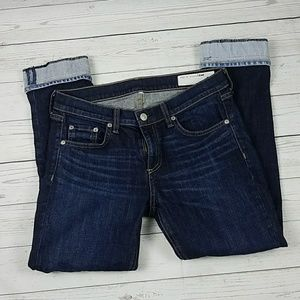 Rag & Bone Jeans Crop  Size 28